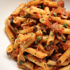 The-Conscious-Kitchen-0031-Penne-Puttanesca