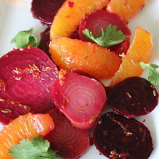 Orange and Cumin Scented Beet Salad