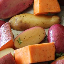 Roasted Medley of Potatoes