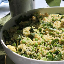 Quinoa with Spring Vegetables