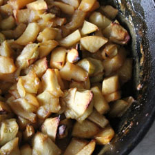 Roasted Chunky Applesauce
