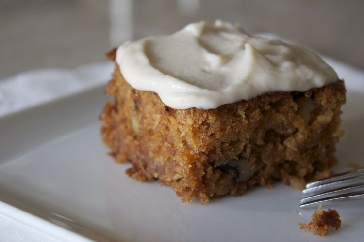 The Best Vegan Carrot Cake with Cashew Cream Cheese Frosting
