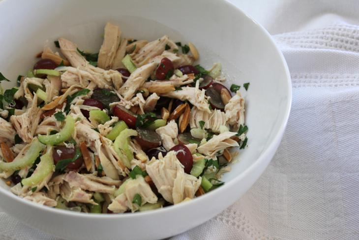 ... chicken salad with almonds chattavore cranberry almond chicken salad
