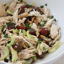 Chicken Salad with Grapes and Almonds ©The Conscious Kitchen