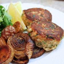 Crab Cakes ©2013 The Conscious Kitchen