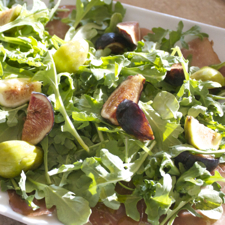 Fig and Bresaola Salad ©The Conscious Kitchen 2014