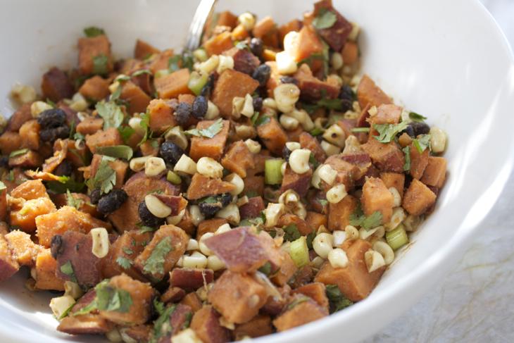 vegan, gluten free, southewestern salad