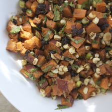 Sweet Potato Chipotle Salad ©2014 The Conscious Kitchen