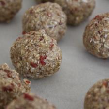 gluten-free oatmeal balls