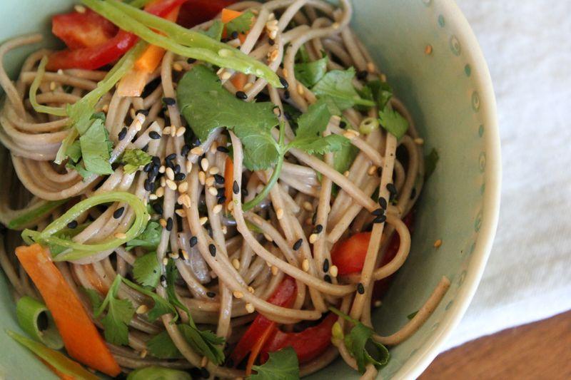 Image Gallery japanese noodle salad